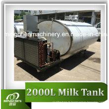 Réservoir de refroidissement de lait sanitaire