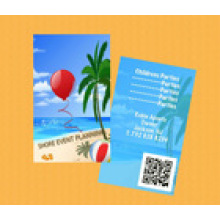 Impresión UV Código Qr Tarjeta de regalo / Tarjeta de miembro de código de barras