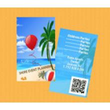 УФ-печать Подарочная карта / штрих-код карты Qr Code