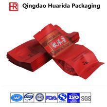 Bolso de empaquetado modificado para requisitos particulares del té plástico con la impresión colorida