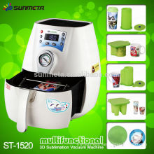 3D sublimation mini vacuum printing machine for mugs and phone case