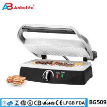 prensa para café da manhã commerical home digital sandwich torradeira 6 fatias antiaderentes Placas revestidas multiuso elétrica Panini Grill