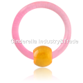 UV Acrylic Colored Ball Closure Ring
