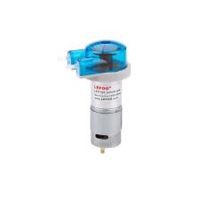 LEFOO 12V/24V dispensing peristaltic pump china for concrete with dc motor or Stepper motor