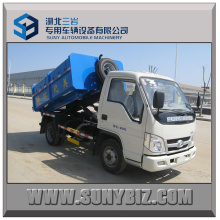 3t 4cubic Hook Arm Garbage Truck