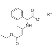 Potassium (R) - [(3-éthoxy-1-méthyl-3-oxoprop-1-ényl) amino] phénylacétate CAS 961-69-3