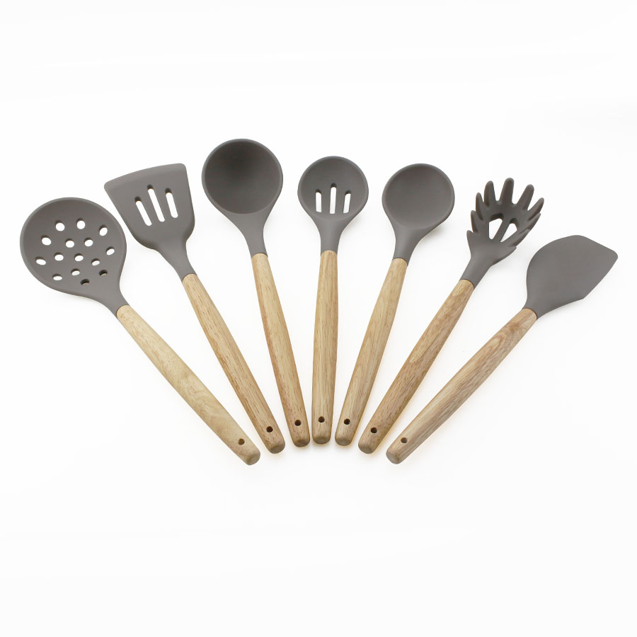 7PCS Silicone Cooking Utensil