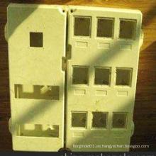 Caja eléctrica de la inyección plástica del ABS para el molde de la caja de conexiones de la inyección con buena calidad