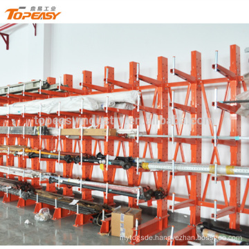Single side warehouse racking arm cantilever rack