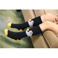 Необычные дизайн-лисы и узор-шарики из пингвинов Девушки и мальчики Прекрасные хлопковые носки Популярные стили