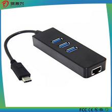 Multifunções de alta velocidade tipo C Hub USB 3.1 mais recente com portas LAN RJ45