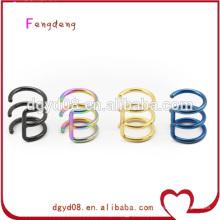 Stainless steel wrap ear piercing jewelry