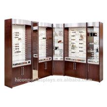 With Love We Make Professional Displays For In Store Marketing Custom Luxury Wooden Retail Eyeglass Floor Displays