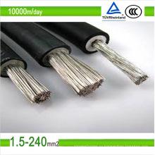 ТЮФ постоянного тока Залуживанный медный Солнечный Фотовольтайческий кабель провод 2.5мм2 6мм2