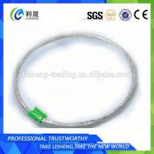 2014 Cuerda de alambre de acero galvanizado 6x19 Precio