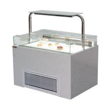 Armário de exposição refrigerado do armário do bolo do sanduíche