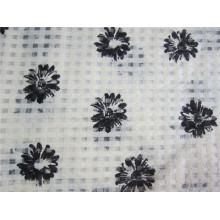 Polyester Check Organza Stoff für Rock