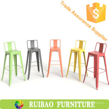 Outdoor High Industrial Cadeiras de metal vintage para móveis de cozinha