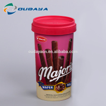 Food Packaging manufacturer  in mold label IML pp plastic cup  Biscuit cookie cup