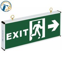 luz de spot / luz de emergência dupla twin / parede de segurança de incêndio sinais de saída de emergência de luz