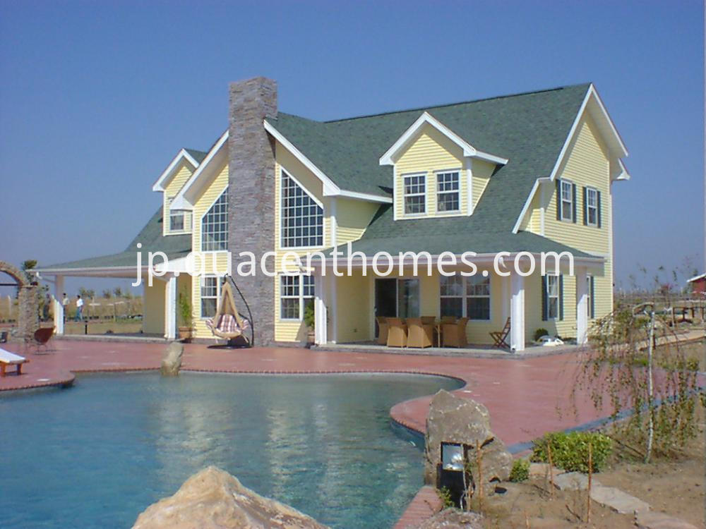 Modern Luxury Ready Made Steel Frame House