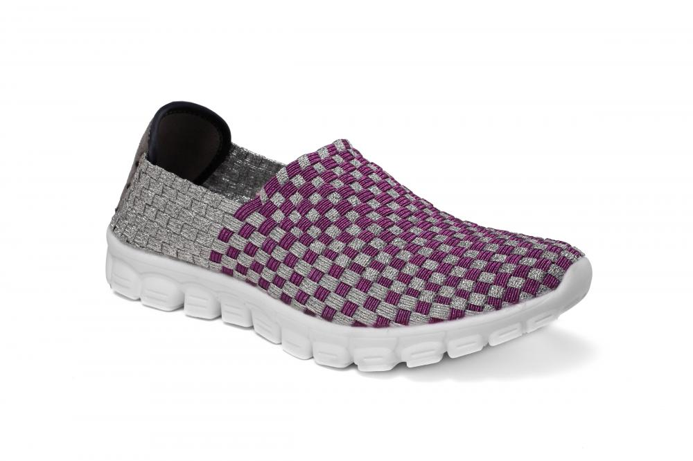 Anti-collision Toe Woven Loafers