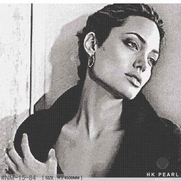 Angelina Jolie Movie Screenshot Glass Mosaic Tile Mural