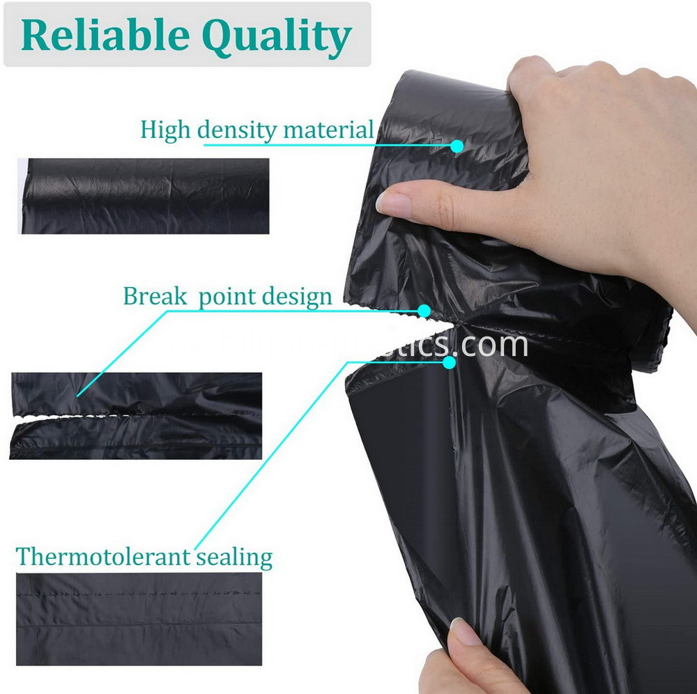 disposable garbage bags