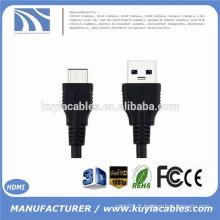3.3ft 1m Conception réversible Hi-speed USB 3.1 Type C Mâle à Standard Type A USB 3.0 Câble de données mâle pour Apple New Macbook
