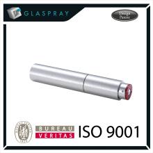 15ml SOLE Slim CNC Brushed Silver Twist up Recharge Bouteille de parfum