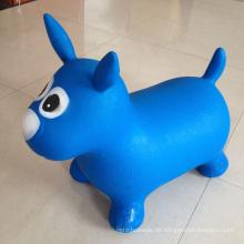 PVC Jumping Tier Aufblasbare Hopfenspielzeug für Kinder, Bounce Spielzeug