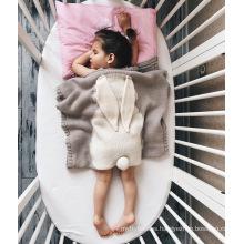 newborn new born growth wrap grey knitted shawl born baby month plain wearable baby walk warm  blanket  blankets