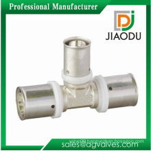 wholesale Brass Copper Standard Reducing Tee Press Pipe Fittings