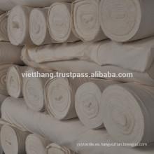 Tejido gris - 100% algodón cardado / 120 * 60 CD20 * CD16