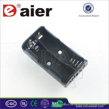 Daier aa soporte de batería con soporte de batería pin 3v aa