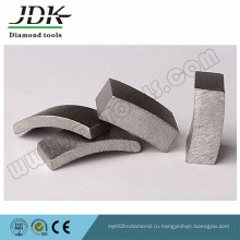 Сегмент алмазные коронки сверла для гранита бетона