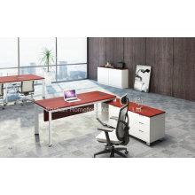 Mobilier de table de bureau moderne de bureau de bureau de melamine Office (HF-YZL003)