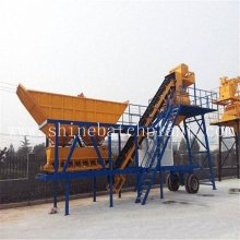 40 Wet Portable Concrete Batching Plant