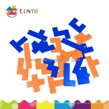 Math Manipulatives Jigsaw Puzzle Toys Plastic Pentominoes
