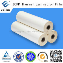 Películas de Laminación Térmica BOPP Transparentes y Suaves