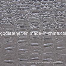 Design de moda em couro de PVC (QDL-51469)
