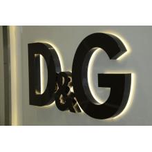 Haute qualité Frontlit et rétro-éclairé LED allumé signe