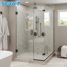 Seawin Bathroom Aluminium Tempered Glass Frameless Enclosure Shower Rooms