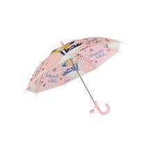 Children Cute Poe Umbrella/Girls′ Gift Auto Open Umbrella with Safety Ruuner