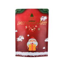 Printed Zipper Biodegradabale Food Packaging Coffee Tea Snack Nut Ziplock Rice Laminated Paper Zip Lock Bag