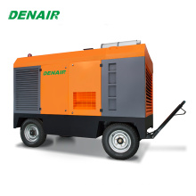 750 cfm diesel air compressor portable for Mines