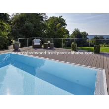 Perfect for your garden, pool deck with WPC decking outdoor