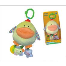 Cute pato brinquedos do bebê, brinquedo de pelúcia
