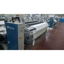 Loom Weaving Machinery Airjet Textile Machine Toyota T-710-280cm Year 2003 with 2861 Dobby