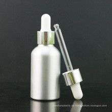 Primärfarbe Aluminium Tropfflasche mit Aluminiumkappe und Pipette